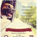 Please join us for a big adoption event - Homeward Hound<br />Sunday, 3/22 from 11-2 pm at Woodglen Vista Park, Santee, CA